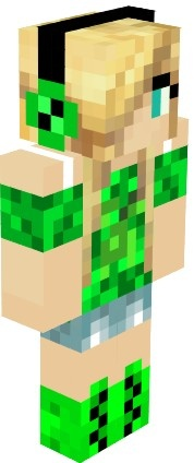 OMG the BEST Minecraft skin EVER this gurl who made this is awesome and Creative -Kloe