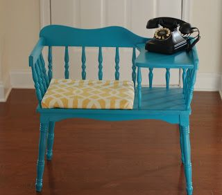 The Pinterest Project: Gossip Bench Redo