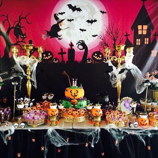 decorao super divertida para festa halloween por kikidsparty halloween party