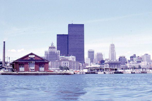 Pre CN Tower skyline and Pier 6