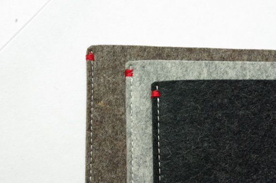 MS Surface PRO 3/4 Sleeve in natural felt. WestermanBags on Etsy.