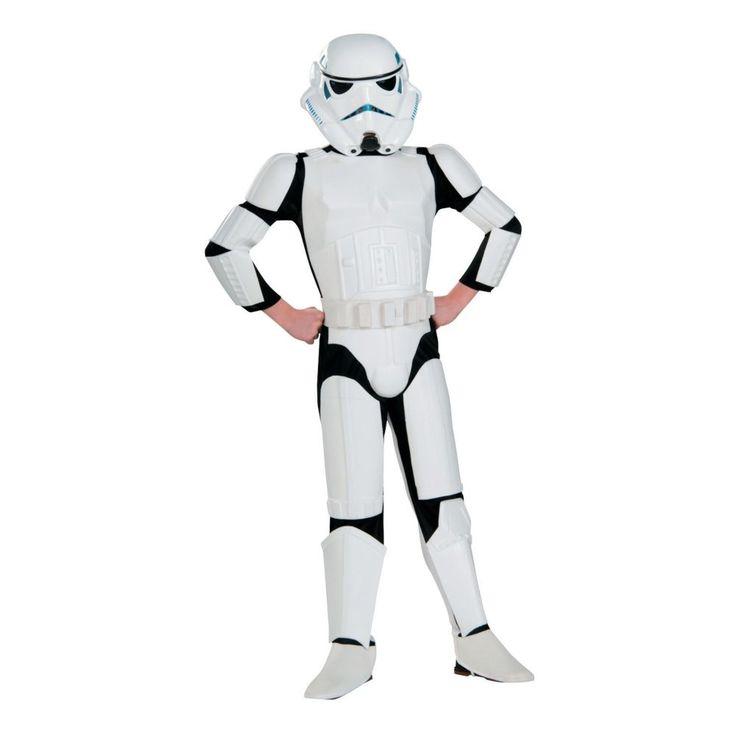 Star Wars Rebels® Deluxe Stormtrooper Costume for Kids - Medium