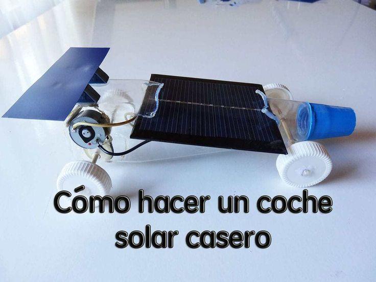 Cómo hacer un coche solar casero de juguete