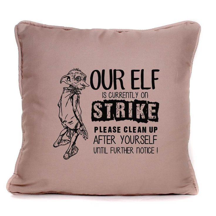 Harry Potter Dobby The House Elf Luxury Large Cushion Hogwarts Gift Idea in Home, Furniture & DIY, Home Decor, Cushions | eBay