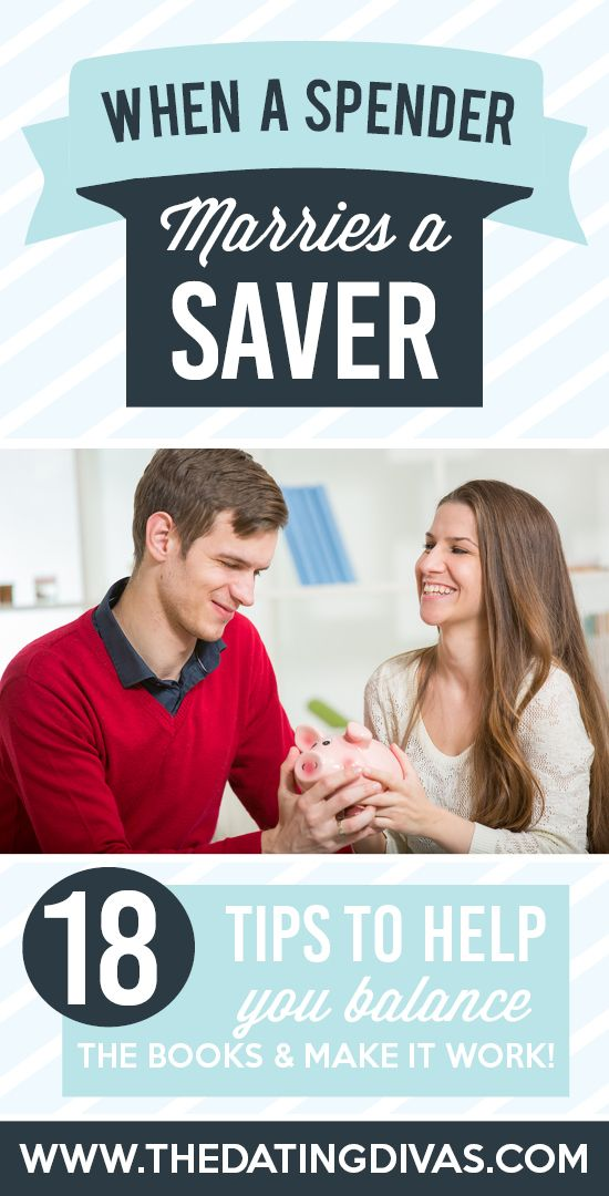 spender and saver relationship
