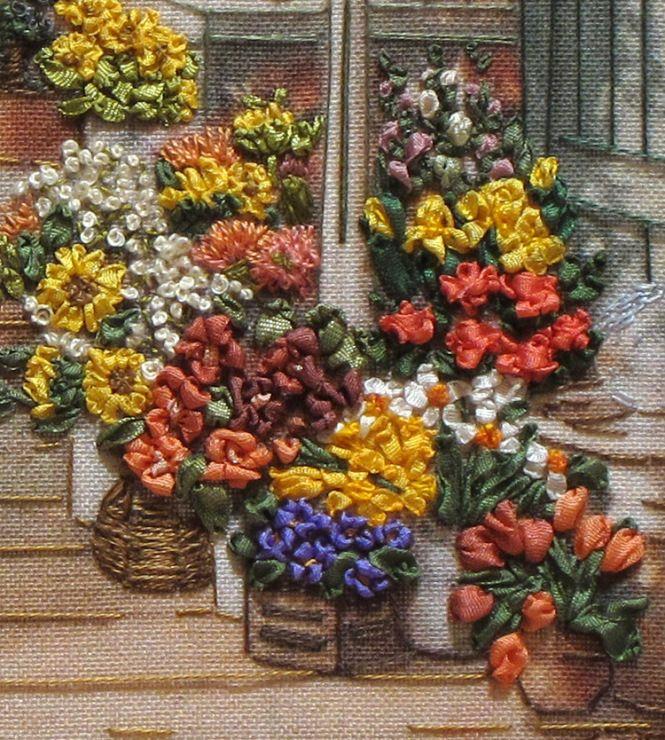 Gallery.ru / Фото #5 - Вышивка лентами - elena-shadrina