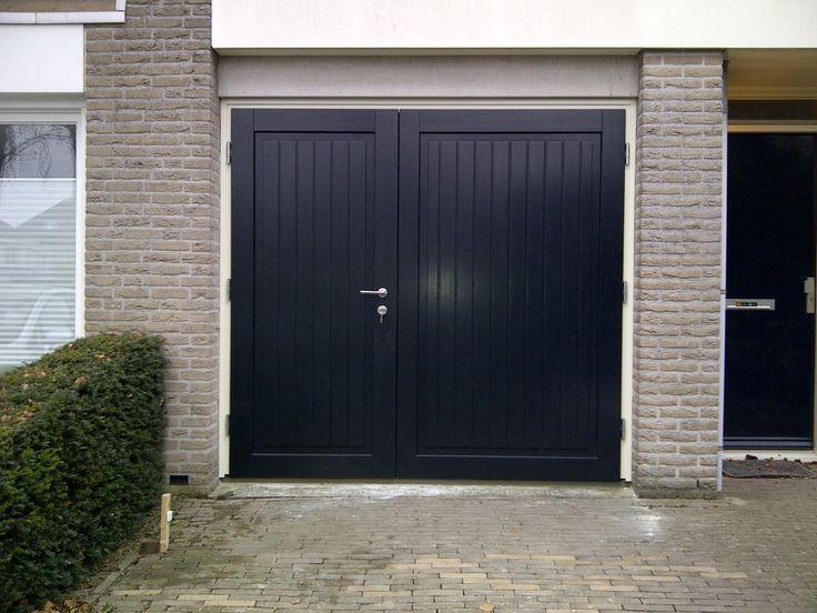 Meer dan 1000 idee n over houten garagedeuren op pinterest nep hout verf garage pergola en - Latwerk houten ...