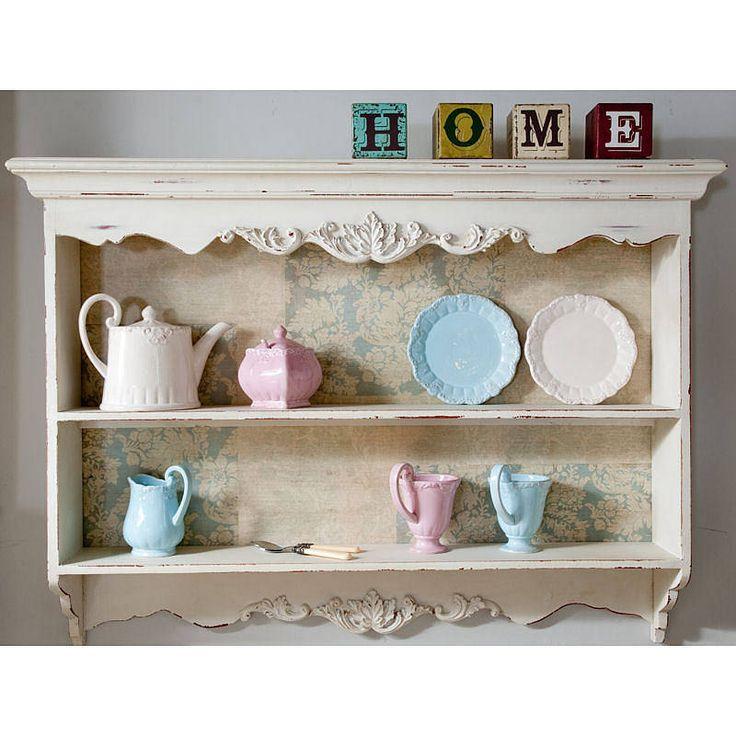 17 best ideas about kitchen wall units on pinterest - Wooden kitchen shelf unit ...