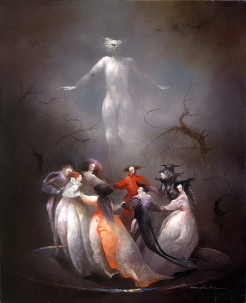by French surrealist and illustrator Anne Bachelier