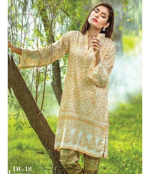 Digital Lawn- Summer Fantacy Kurti Collection By Alkaram DL_18