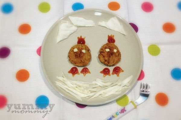 {chicken balls} μπιφτέκια από κοτόπουλο