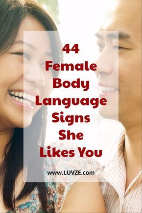How to tell a guy likes you by body language