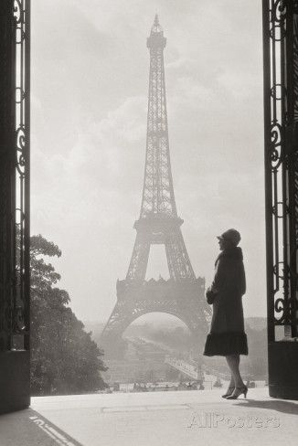 Paris 1928 Posters at AllPosters.com Eiffel Tower