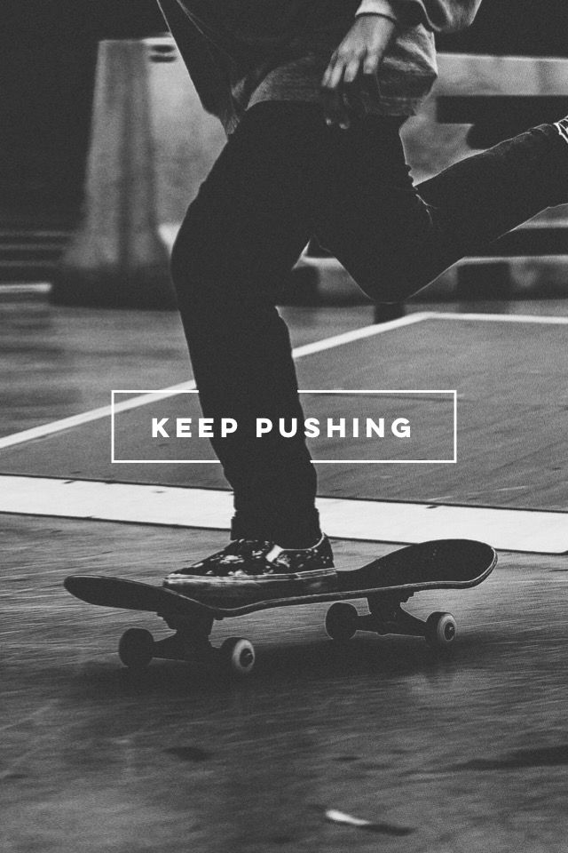 Keep pushing.  #madewithover  Collect, edit or make your very own pins in Over today.