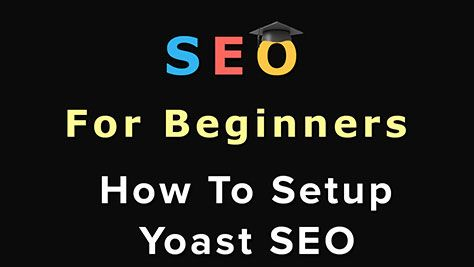 Once you have download the optimized Yoast SEO settings, you can follow the below instructions on how to Setup Yoast SEO on your website.