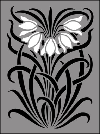 Art Nouveau stencils from The Stencil Library. Buy from our range of Art Nouveau stencils online. Page 1 of our Art Nouveau motif stencil catalogue.