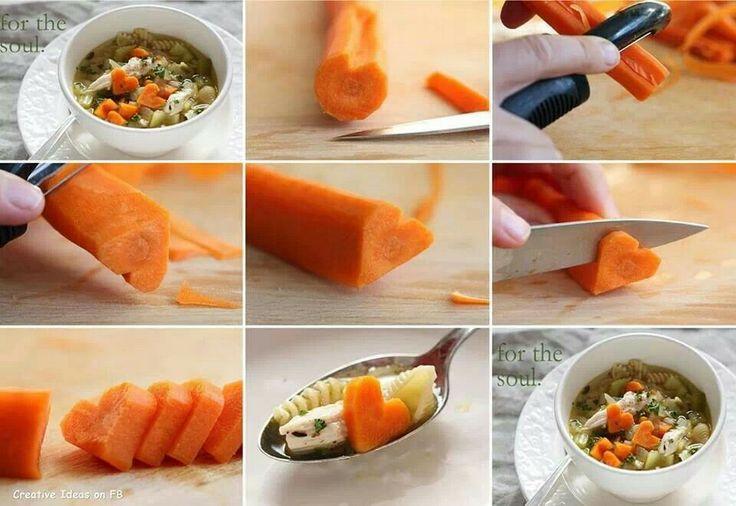 Pour donner envie de manger des carottes à mes enfants !!!!!