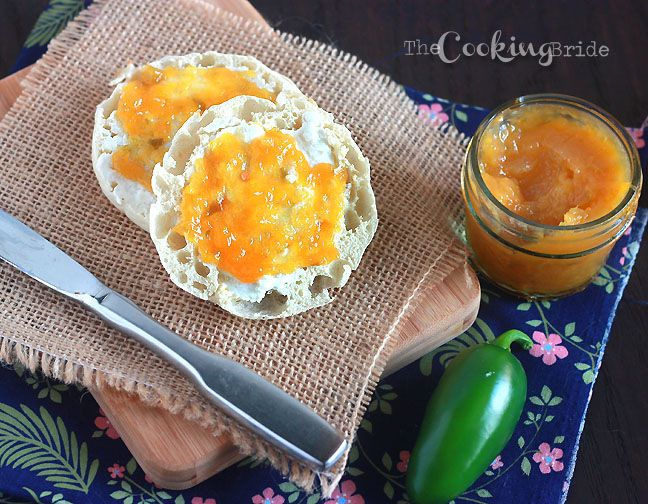 peach jalapeno jam 031 WM | It's all about the FOOD! | Pinterest