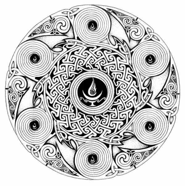 Winter Solstice | Coloring Pages | Pinterest | Winter ...