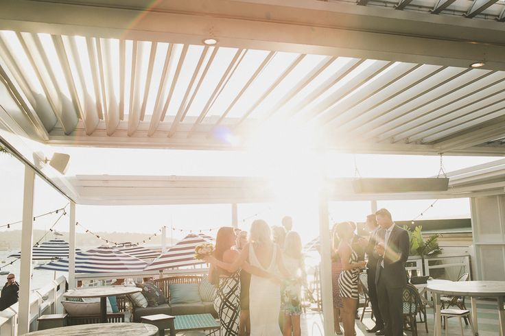 Beach Weddings on The Top Deck at Watsons Bay Boutique Hotel