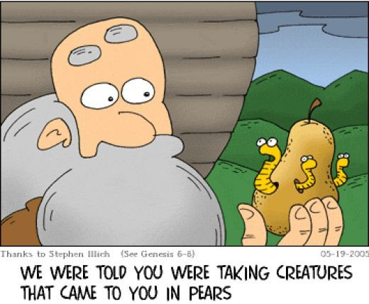 christian comic jokes | Which Bible character had no parents?