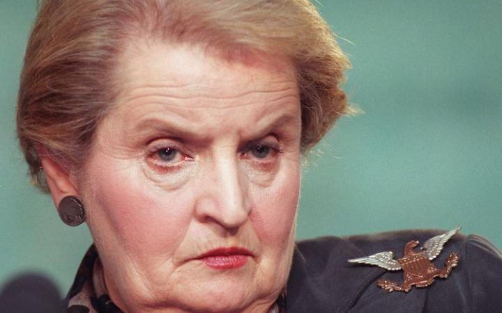 """""""It took me quite a long time to develop a voice, and now that I have it, I am not going to be silent."""" Madeleine Albright"""