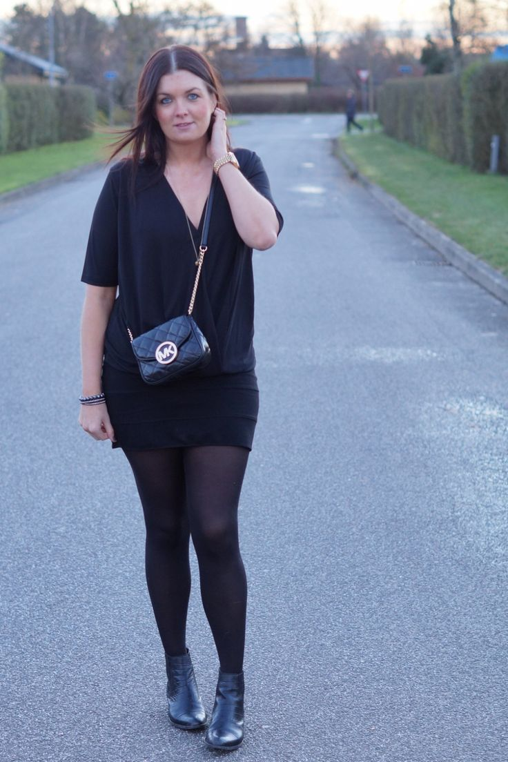 My new Michael kore fulton quilted bag - total black outfit, my deep V t-shirt is a favorit from Asos.com.  More on my blog: www.everyday-couture.dk  #michael #kors #michaelkors #quiltedbag #bag #quilted