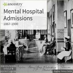 Over 11,000 Histor Surrey Mental Hospital Admission Records Published on Ancestry http://ancstry.me/1ThpRz0