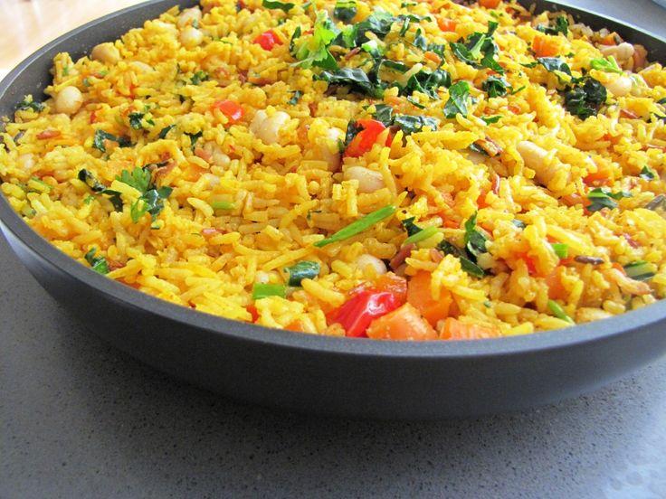 healthyepicurean - vegetarian paella