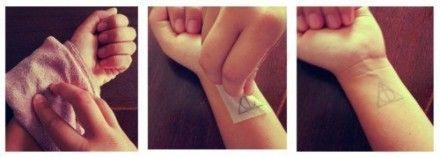 Dočasné tetování - 3