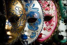 Cómo hacer máscaras venecianas de papel maché.Paso a paso