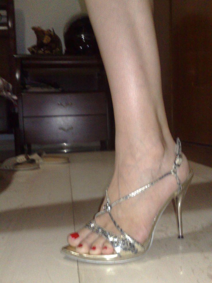 silver night heel
