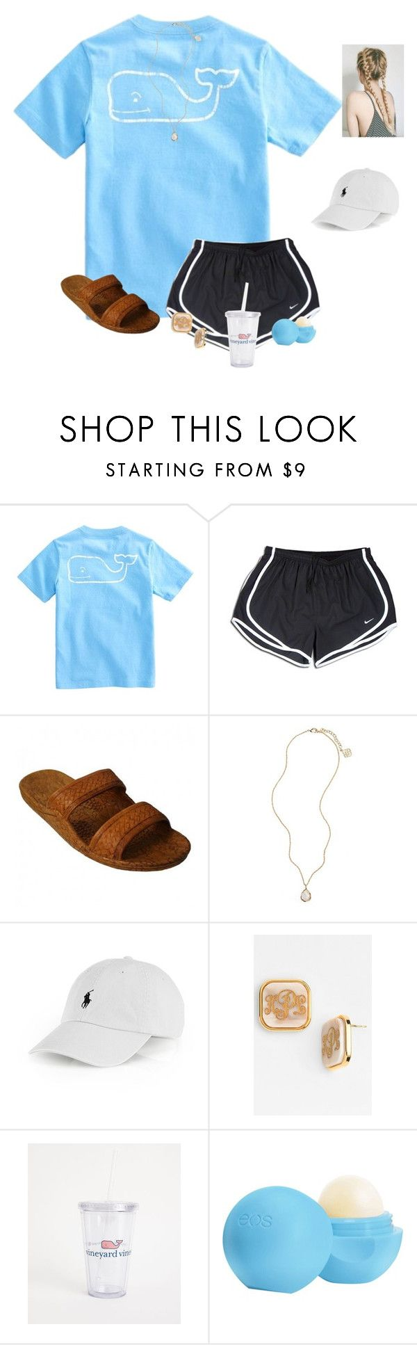 """""""Season 5 of OUAT is finally out on Netflix"""" by raquate1232 ❤ liked on Polyvore featuring Vineyard Vines, NIKE, Kendra Scott, Ralph Lauren, Moon and Lola and Eos"""