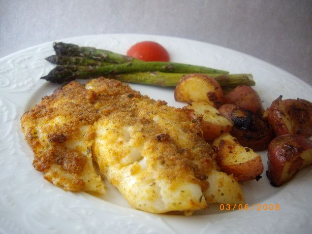 I heard the best way to prepare orange roughy is to  broil it.I have been doing it this way and it comes out perfect. Serve with a green vegetable and some roasted potatoes.