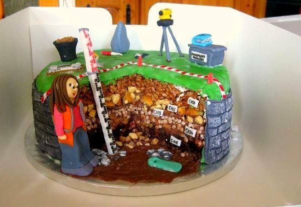 Archaeology Cake Ideas