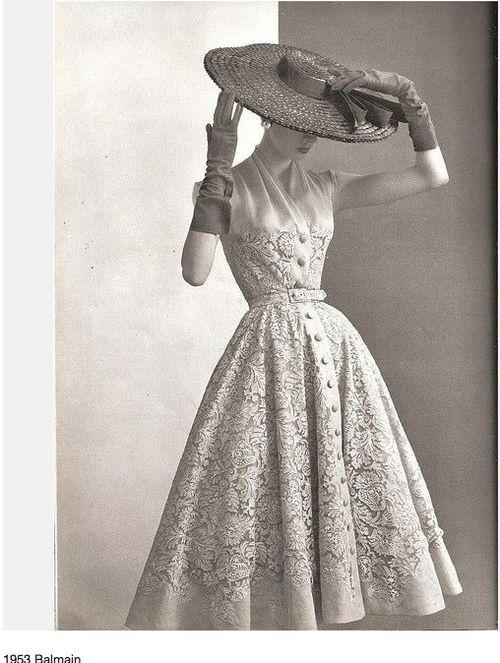 that hat!  that dress!