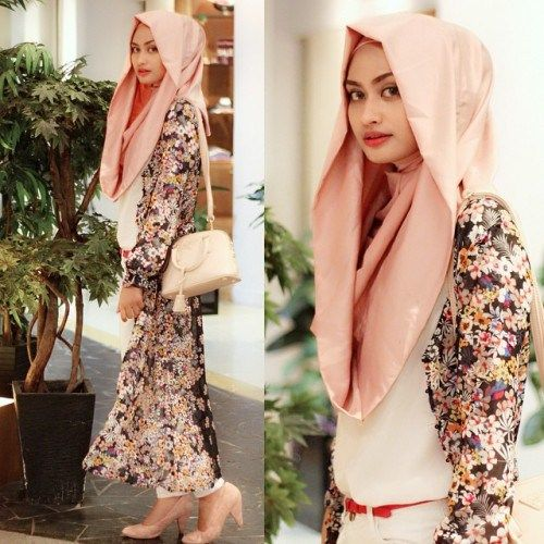 Contoh Model hijab modern terbaru style 2016