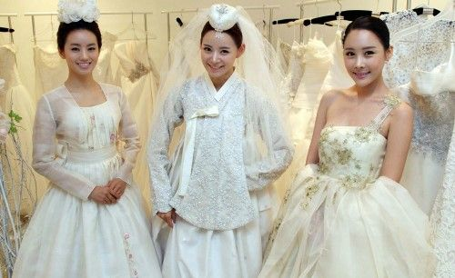 hanbok wedding dresses