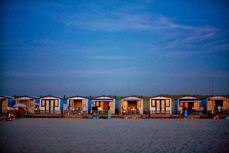 mooiste strandhuisjes - tiny houses Holland