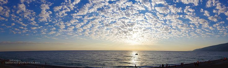 "Sunset Sky From ""Panoramic"" photo collection. #sunset #panoramic #horizon #photoprints #travelphoto"