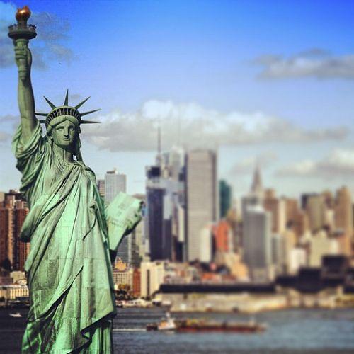 #statue of #liberty #manhattan #new #york #city #like #beautiful #amazing #fantastic #holidays #usa #america