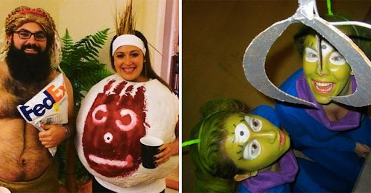 31 Two-Person Halloween Costumes That Are Borderline Genius