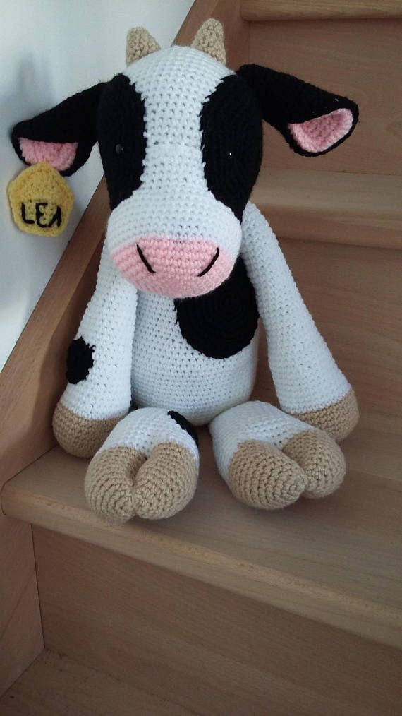 les 25 meilleures id es de la cat gorie vache en crochet sur pinterest animaux en crochet. Black Bedroom Furniture Sets. Home Design Ideas