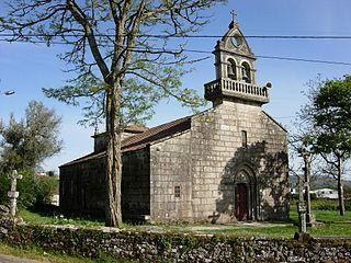 Igrexa de Santa María de Tourón, Ponte Caldelas.Pontevedra
