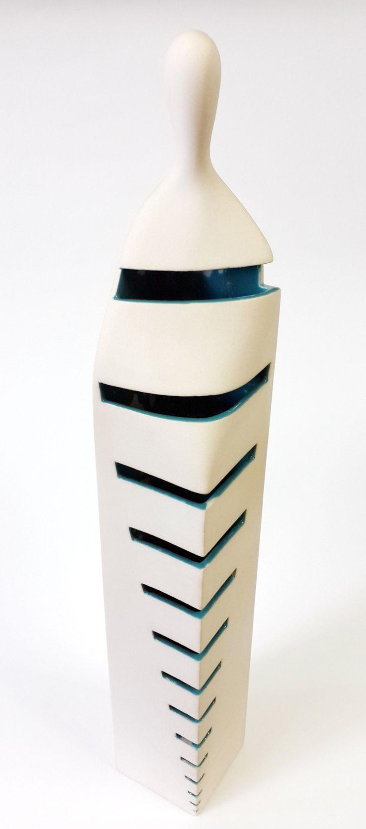 Kemal ULUDAĞ, 2014, Human Blocks 4 - İnsan Blokları 4, 65x9x9 cm., Stoneware-1200 °C