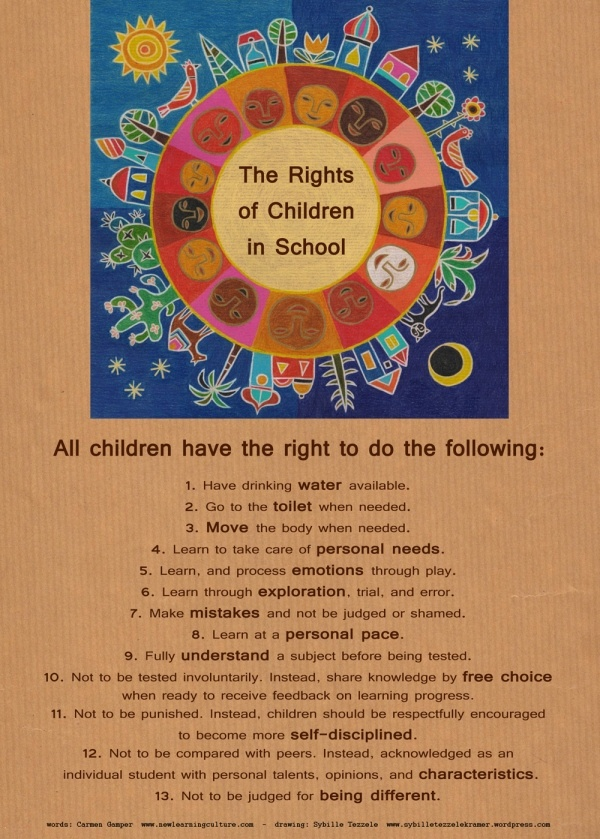 If only...Children's Rights - Sybille Tezzele Kramer