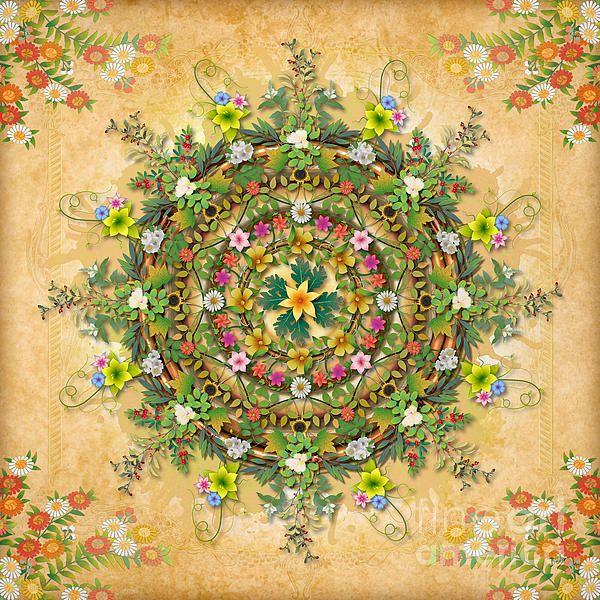 Mandala Flora by Bedros Awak.