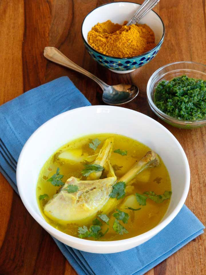 Yemenite Soup Learn To Make Yemenite Soup With Chicken Beef Or Lamb And Potatoes Spiced With Traditional Yemenite Haw Soup Recipes Yemeni Food Comfort Food