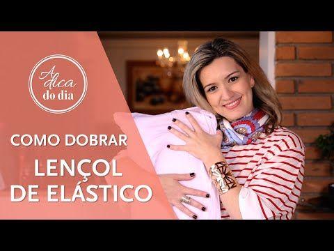 lençol de elástico: como dobrar  #aDicadoDia Flávia Ferrari