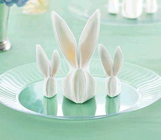 Bunny | Napkin Folding | MyChinet.com